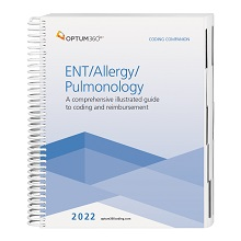 2022 Coding Companion for ENT/Allergy/Pulmonology (Optum)