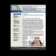 Hospice Insider - eNewsletter