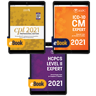 2021 Pro Fee Coder Bundle (With AMA Guidelines) - eBook