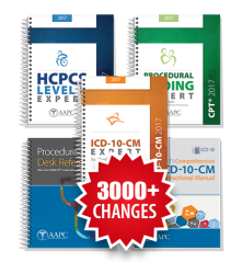 2017 Physician Bundle 4 (ICD-10-CM, HCPCS, PCE, PDR, ICD-10 Instruction Manual)