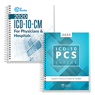 CIC Exam Book Bundle 2020 (ICD-10-CM, ICD-10-PCS)