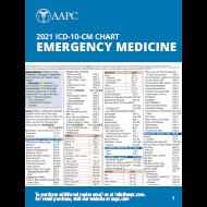 2021 ICD-10-CM Chart - Emergency Medicine