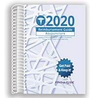 2020 Reimbursement Guide for Acupuncture (Find a Code)