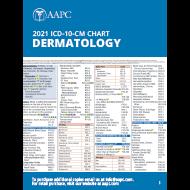 2021 ICD-10-CM Chart - Dermatology
