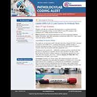 Pathology / Laboratory Coding Alert - eNewsletter