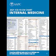 2021 ICD-10-CM Chart - Internal Medicine