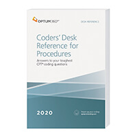 2020 Coders' Desk Reference for Procedures - (Optum)
