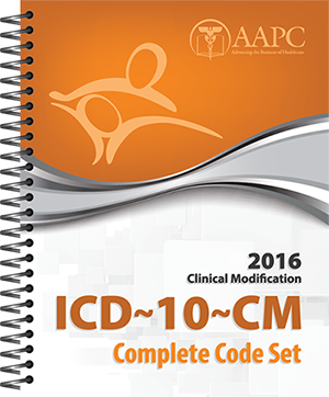 2016 ICD-10-CM Complete Code Set
