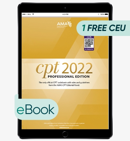 AMA CPT Professional 2022 - eBook