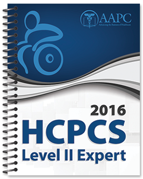 2016 HCPCS Level II Expert