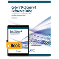 Coders' Dictionary & Reference Guide - Print + eBook - First Edition