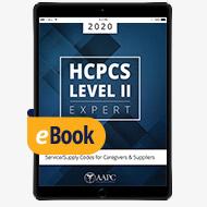 2020 HCPCS Level II Expert - eBook