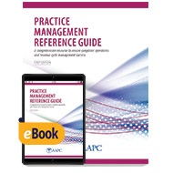 Practice Management Reference Guide - Print + eBook - First Edition