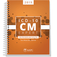 fdc5ed170a449 ICD-10-CM 2019 - Official Codebook with Guidelines - AAPC