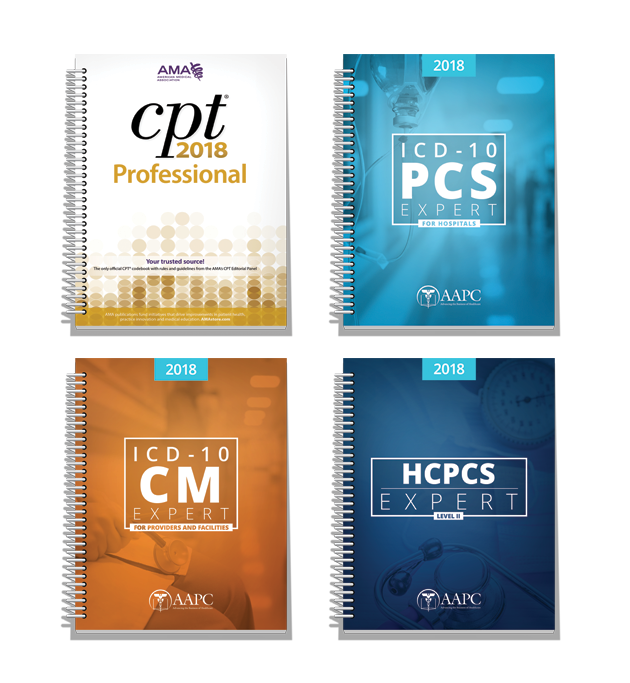 Medical coding books aapc code books facility coder bundle fandeluxe Choice Image