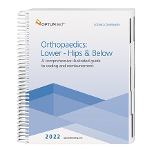 2022 Coding Companion for Orthopaedics - Lower: Hips & Below (Optum)