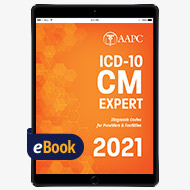 2021 ICD-10-CM Complete Code Set - eBook
