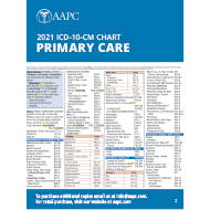 2021 ICD-10-CM Chart - Primary Care