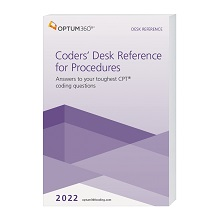 2022 Coders' Desk Reference for Procedures - (Compact, 6x9) (Optum)