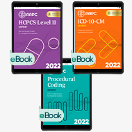 Pro Fee Coder Bundle 2022 (With AAPC Procedural Code Book) - eBook