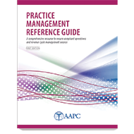 Practice Management Reference Guide - First Edition