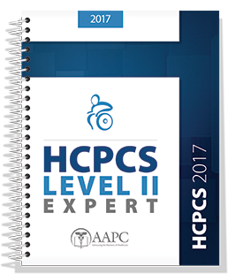 2017 HCPCS Level II Expert