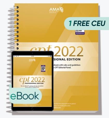 AMA CPT Professional 2022 - Print + eBook