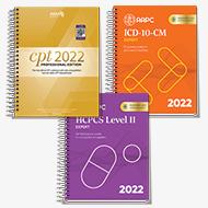Exam Book Bundle 2022 (CPT®, HCPCS, ICD-10-CM)