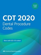 CDT 2020: Dental Procedure Codes (ADA)