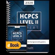 2020 HCPCS Level II Expert - Print + eBook