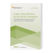 2022 Coders' Desk Reference for Procedures (ICD-10-PCS) - (Compact, 6x9) (Optum)