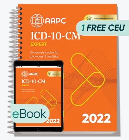 ICD-10-CM Complete Code Set 2022 - Print + eBook