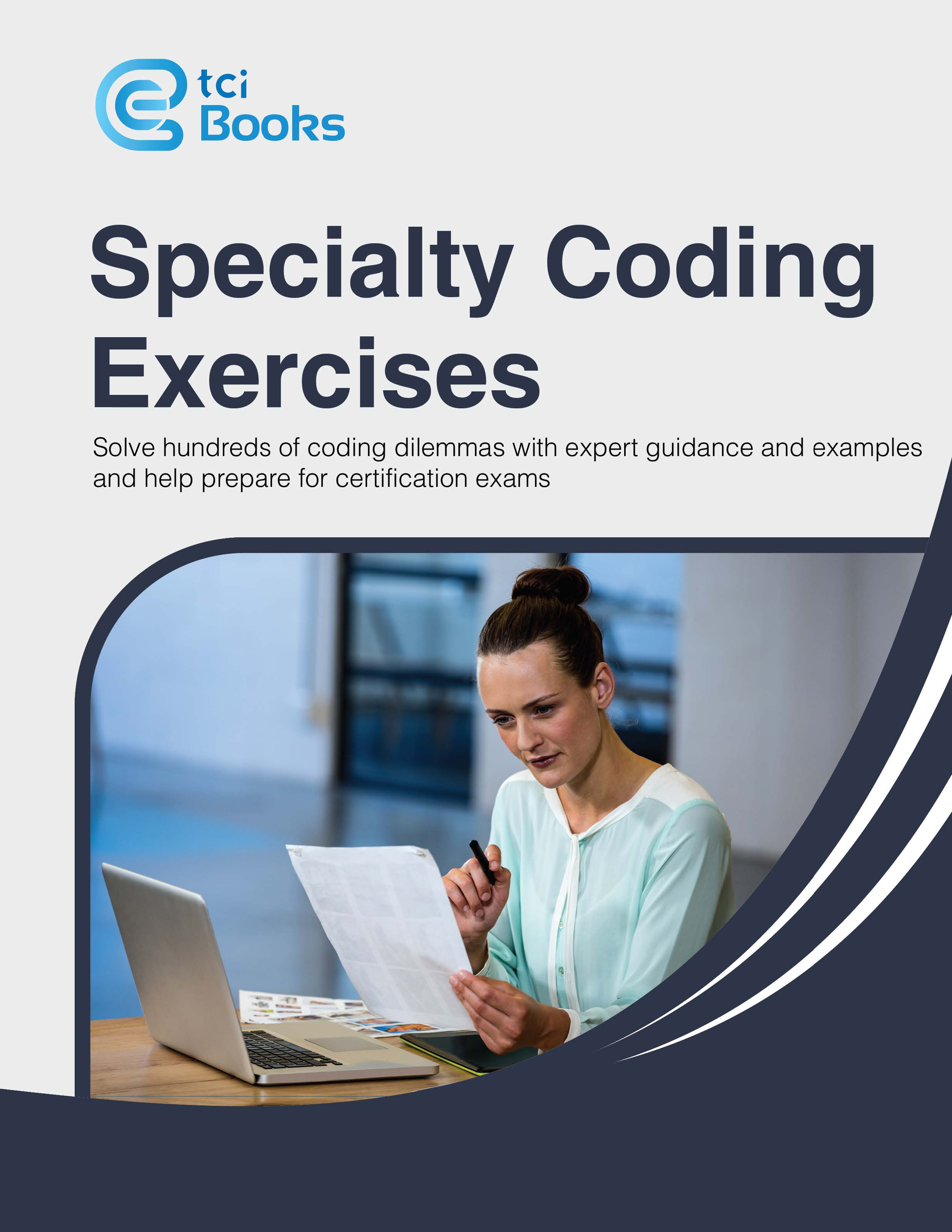 Vendor book store aapc specialty coding exercisestci publisher the coding institute llc isbn 978 1 63527 296 3 price 149 fandeluxe Choice Image
