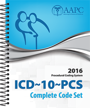 2016 ICD-10-PCS Complete Code Set