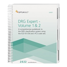 2022 DRG Expert - (2 Volume set, shrink wrapped) (Optum)
