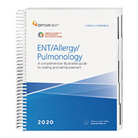 2020 Coding Companion for ENT/Allergy/Pulmonology (Optum)