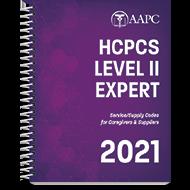 HCPCS Level II Expert 2021