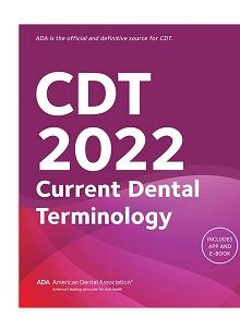 CDT 2022: Current Dental Terminology (ADA)