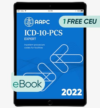 ICD-10-PCS Complete Code Set 2022 - eBook
