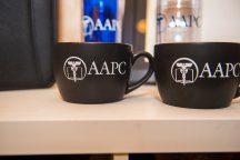 AAPC Logo Mug - Black