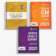 Exam Book Bundle 2021 (CPT, HCPCS, ICD-10-CM)
