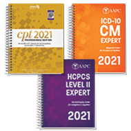 Exam Book Bundle 2021 (CPT, HCPCS, ICD-10-CM)