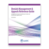 Master Denials Management & Appeals Reference Guide - First Edition