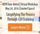 Simplifying The Process Through CDI Training