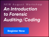 Becoming an Expert Witness: Part 1 - An Introduction to Forensic Auditing/Coding