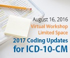 2017 Coding Updates for ICD-10-CM